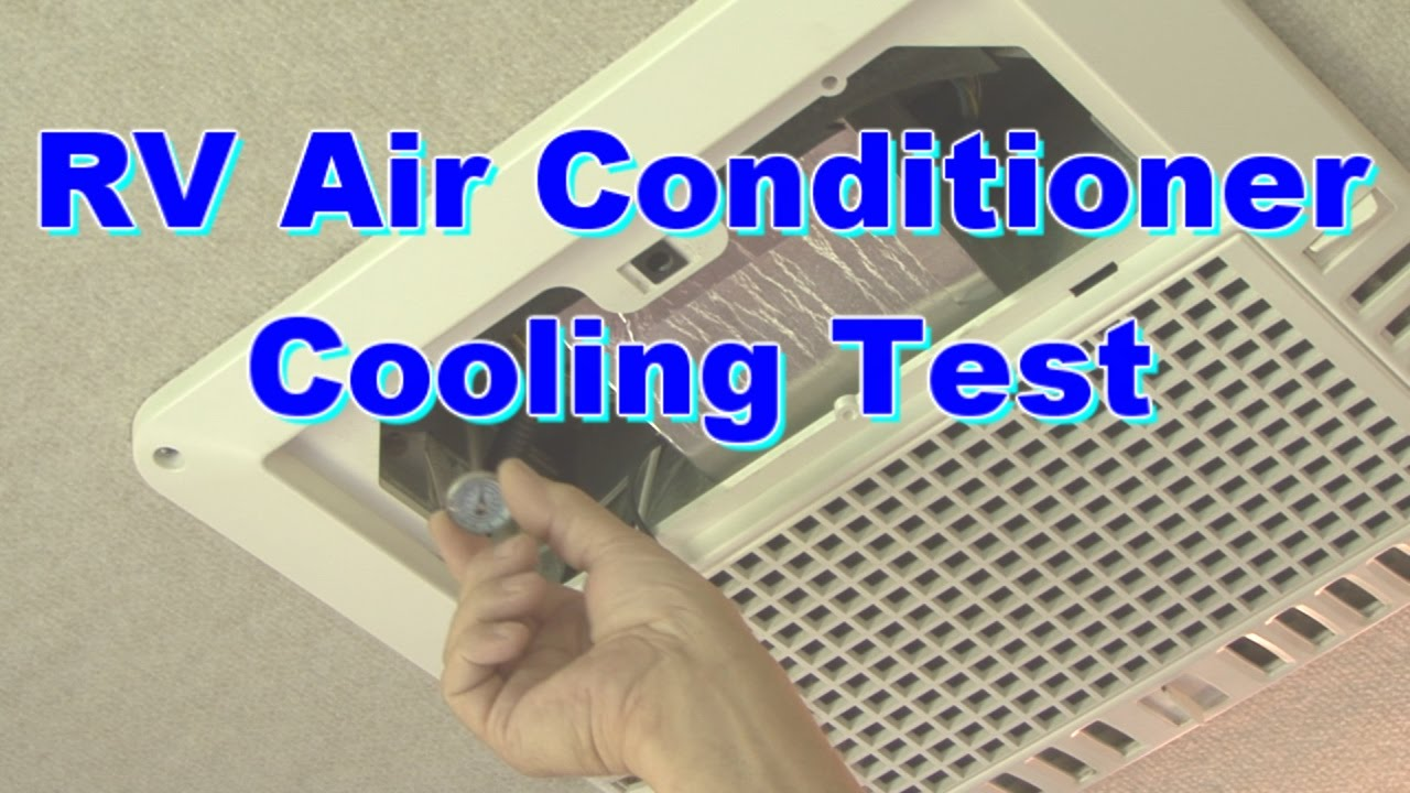 RV Air Conditioner Cooling Test