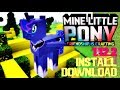 MINE LITTLE PONY MOD 1.12.2 minecraft - how to download and install mine little pony 1.12.2