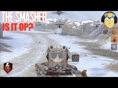 The Smasher Is It OP? World Of Tanks Blitz