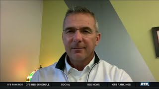 Urban Meyer Previews The Race For The Big Ten East Crown   Big Ten Football