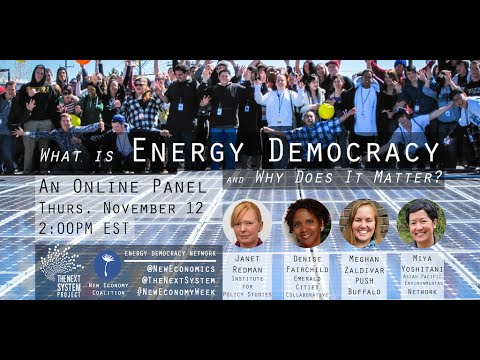 What is Energy Democracy and Why Does It Matter?