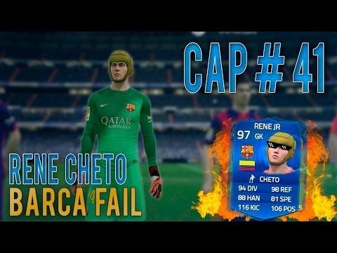 FIFA 15 - Modo Carrera Portero [Cap. #41] Cheto Rene ¡SE QUEDA!