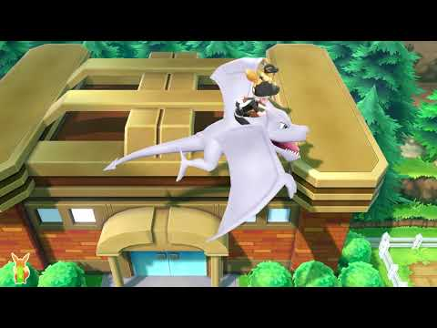 How To Unlock Flying High On Ride Pokemon In Pokemon Let's Go Pikachu Eevee