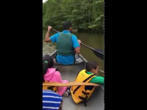 Canoeing in Staten island NY