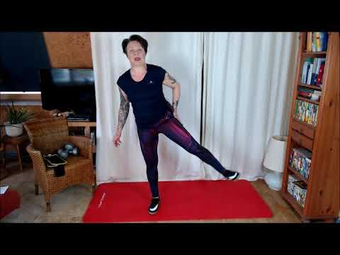 Bauch, Beine, Po Komplette Trainingseinheit Woche 2