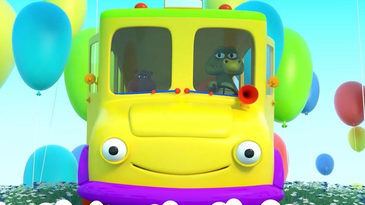 Las Ruedas del Autobus - Canciones Infantiles | El Reino Infantil