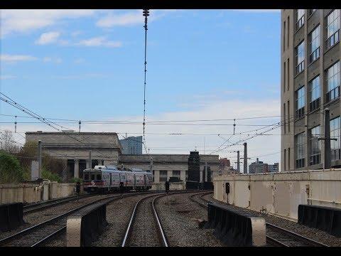 Septa's West Trenton Line Cab Ride (Yardley - Philadelphia, PA)