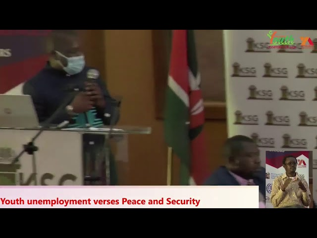 Youth Unemployment Verses Peace and Security  ||    DAY 2     ||    #YEC2020