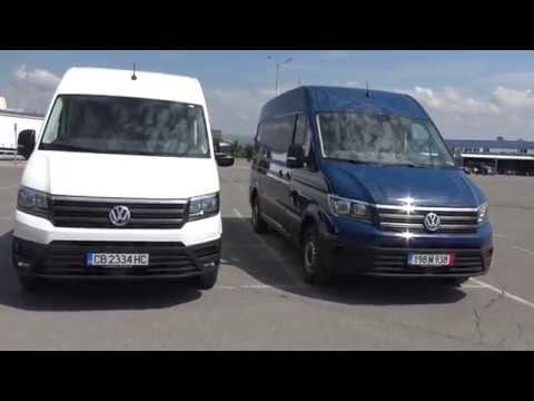 Volkswagen Crafter Test Drive In Bulgaria