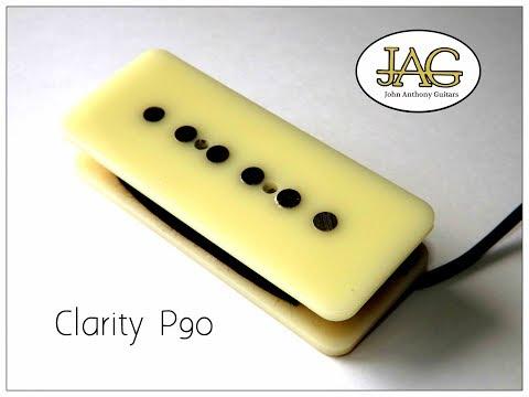 JAG/ Baytone Clarity guitar pickup sound demo Demo