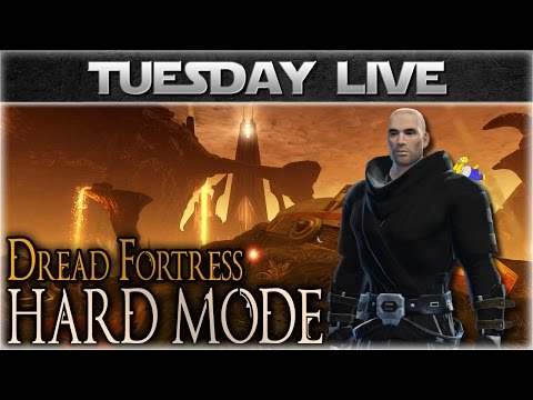SWTOR Dread Fortress Hard Mode (High Priority Operation) - Live Stream Archive