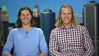 Who wins the hair battle between deGrom and Syndergaard?