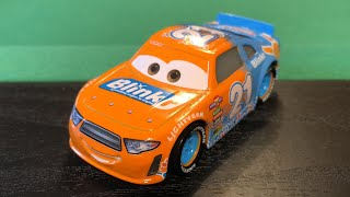 Mattel Disney Cars 3 2018 Speedy Comet #21 Blinkr Stock Car Die-cast Review