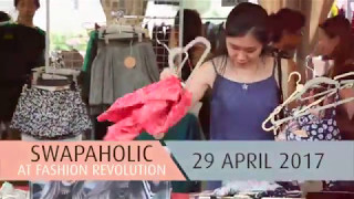 Swapaholic at Fashion Revolution Singapore