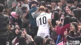 [Fancam] 160421 Kikwang  FC Men x Nike Football School Challenge