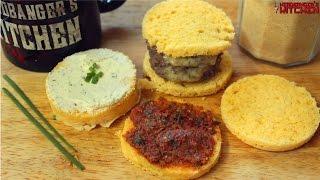 90 Second Keto Bread in the microwave (Almond Flour) | Keto Recipes | Headbanger