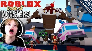 🍦 Roblox BOOK OF MONSTERS Humains Vs. Monstres