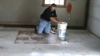 Grouting Armstrong Alterna Tile