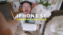 iPhone SE (2) Unboxing WITH DOGS