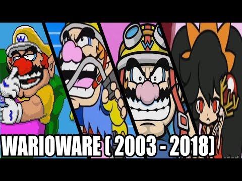 WarioWare All Intros ( 2003 - 2018)