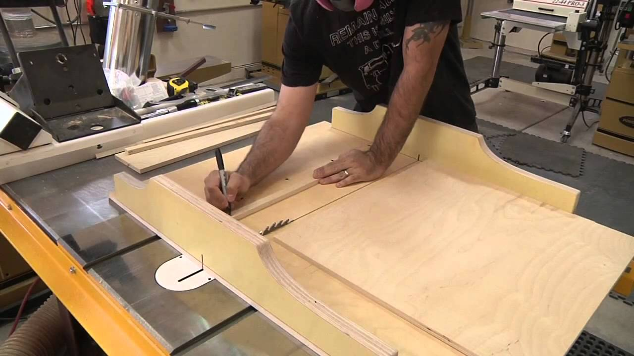 How To Make A Cross Cut Sled