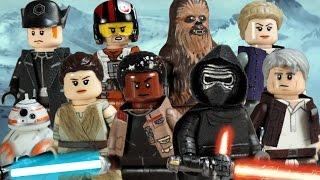 Custom LEGO Star Wars: The Force Awakens Minifigures Part 1