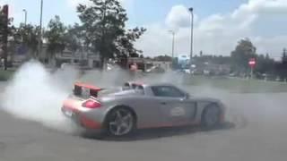 Porsche Carrera GT drift
