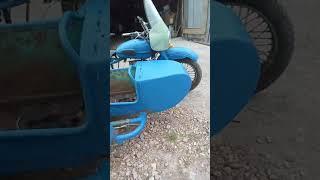 Покраска мотоцикла урал