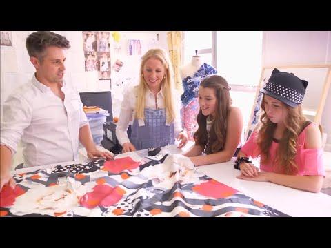 Modowe wyzwanie Minnie | Chusta | Disney Channel Polska