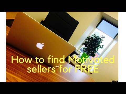 How to find motivated sellers for FREE