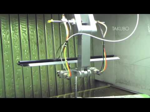 量産型ロボットにより、工場を自動化させるロボット塗装システム