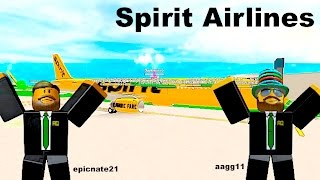 ROBLOX | Spirit Airlines A321 Flight