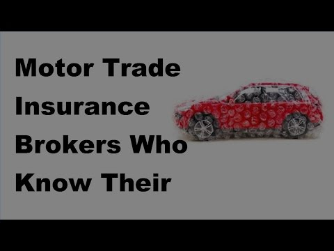 Motor Trade Insurance Brokers Who Know Their Onions  - 2017 Car Insurance Policy Coverage