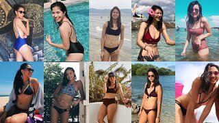Ateneo Lady Eagles so stunning and sexy in their swimsuits 😍💙✨ | ANG PRETTY & HOT 🔥