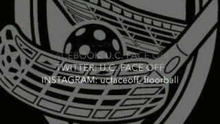 Kom floorballen bij U.C. Face Off!