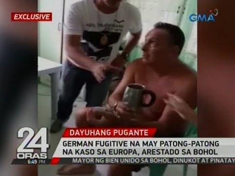 24 Oras Exclusive: German fugitive na may patong-patong na kaso sa Europa, arestado sa Bohol