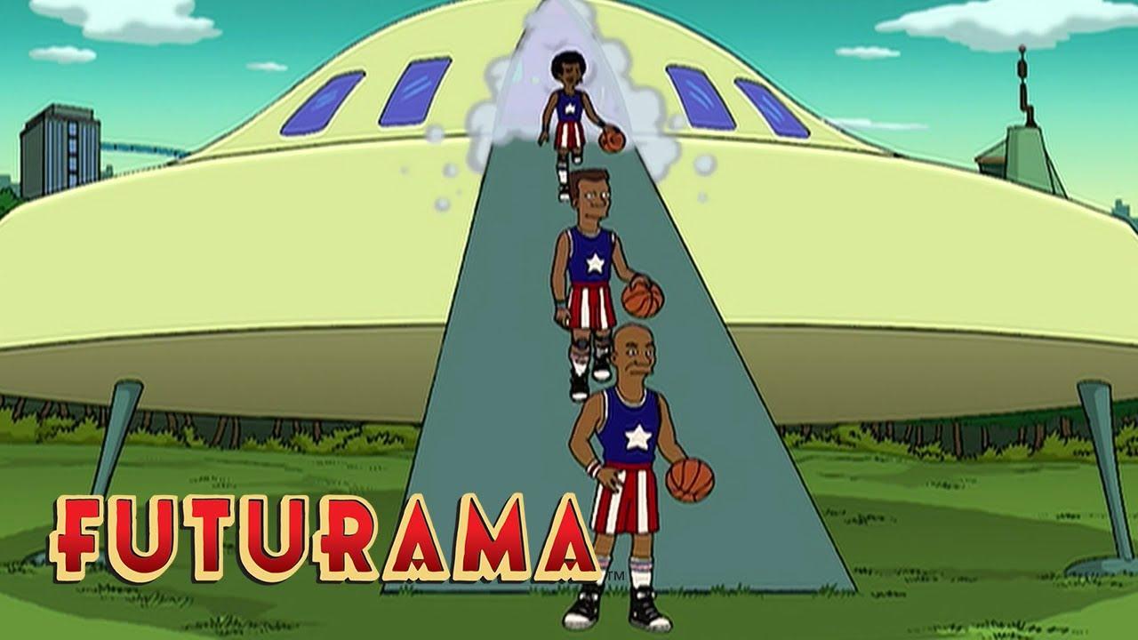 Harlem Globetrotters Futurama