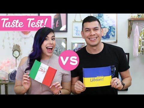 ITALY & UKRAINE TASTE TEST!