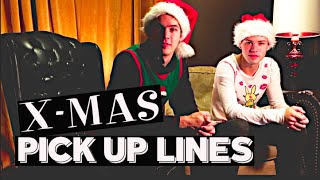 Christmas Pick Up Lines + Tips | Twins Jordan & Tyler