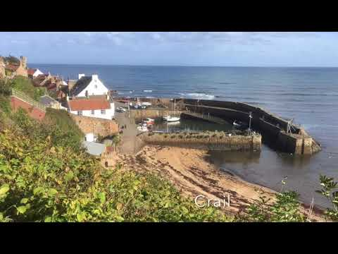 Fife Coastal Path. Elie - Crail - St. Andrews