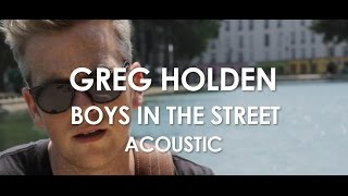 greg holden boys in the street acoustic live in paris