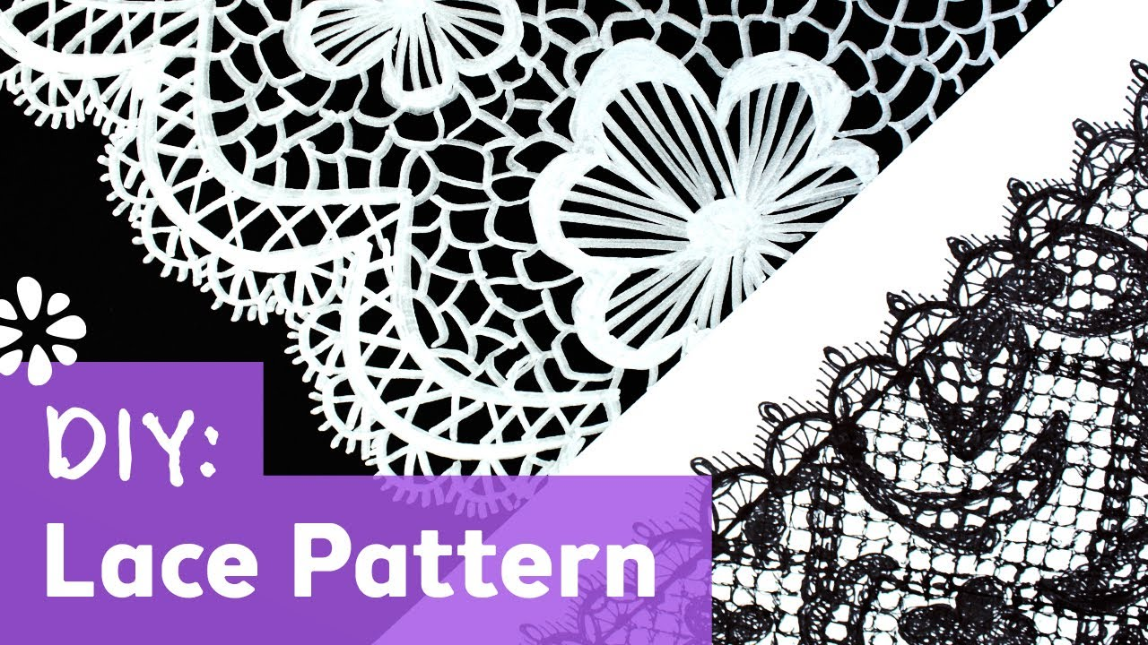 lace drawing pattern - photo #16