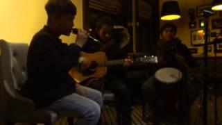 Con Cò - Đạt Dinho, Anh Đức(Guitar), Hà Mạnh Hào (Cajon) - CLB GUITAR ĐH KIẾN TRÚC