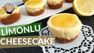 Cheesecake Tarifi | Limonlu Sosu ile Porsiyonluk Nasıl Yapılır ? | Hatice Mazı ile Yemek Tarifleri