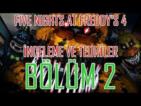 Türkçe - Five Nights at Freddy's 4 - İnceleme ve Teoriler - BÖLÜM 2 thumbnail