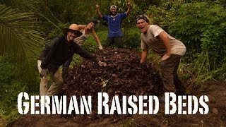 How to make German Raised Beds! Permaculture in Malaysia