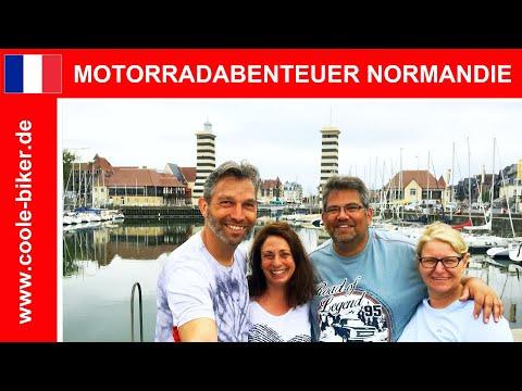 🇫🇷 Motorradabenteuer Normandie - Die Nordküste Frankreichs - Eine Reisedokumentation - HD