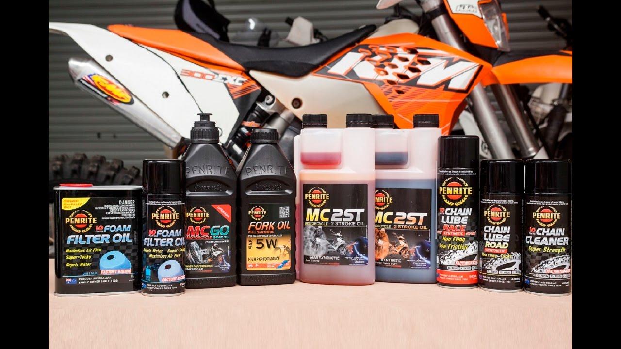 Penrite Specialty Motorcycle Oil Range