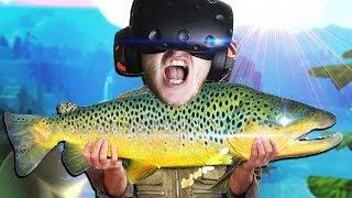 СИМУЛЯТОР РИБОЛОВЛІ В ВР! - Catch and Release VR - HTC Vive ВІРТУАЛЬНА РЕАЛЬНІСТЬ