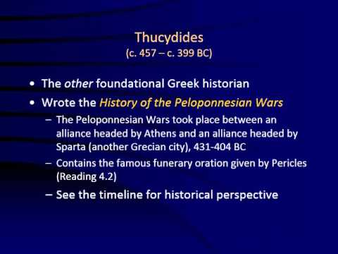 Classical Greece fall 2013 with audio